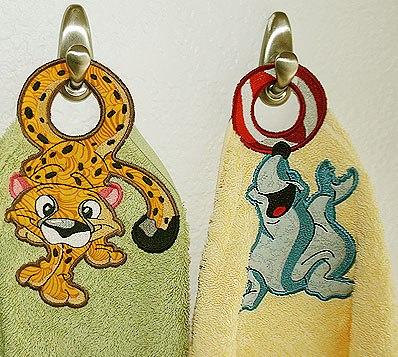Vešiačiky na uterák